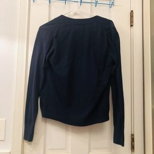 Old Navy Sweaters - Navy Blue Cardigan